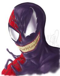 spiderman venom tranformation