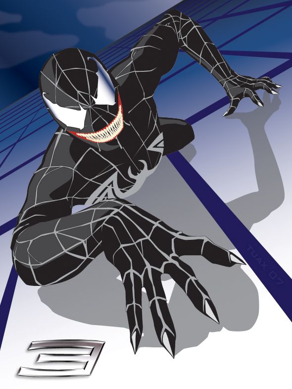 Venom poster by TuaX on DeviantArt