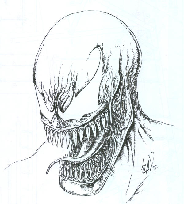 Venom regular smile by TuaX on DeviantArt