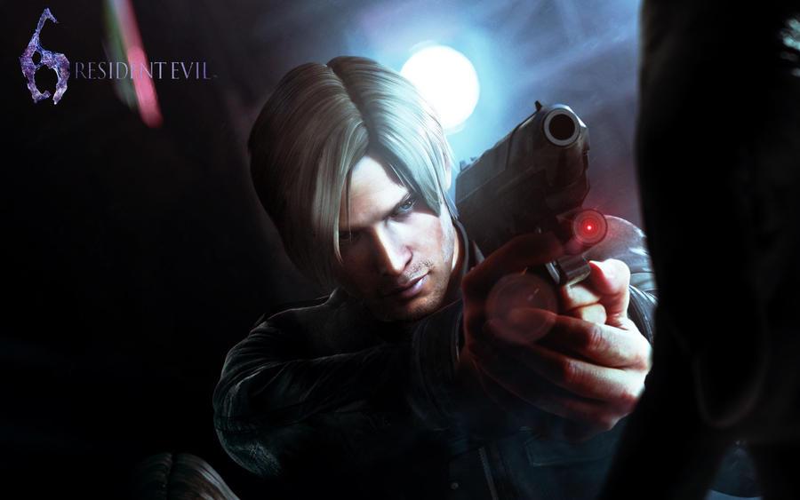 Resident Evil 6 - Leon by xcursedgravex