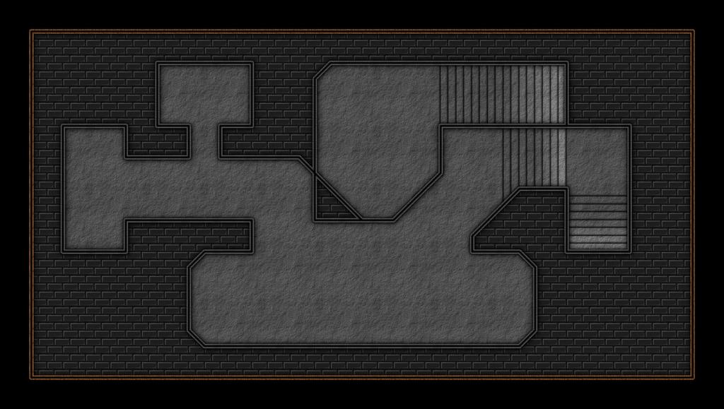 Hidden Basement (23x13 sq) by Leah-Lockheart