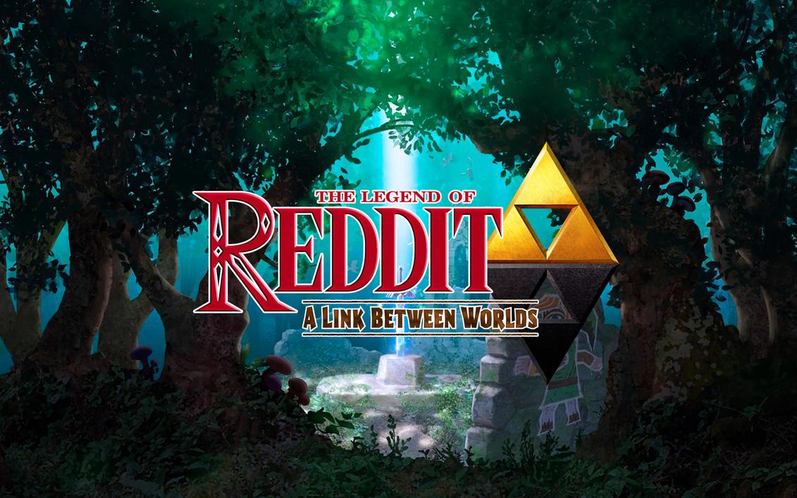 The Legend Of Reddit (Wallpaper Version!) by RichardF23