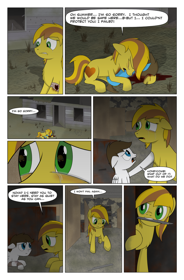Fallout Equestria: Grounded page 34 by BoyAmongClouds