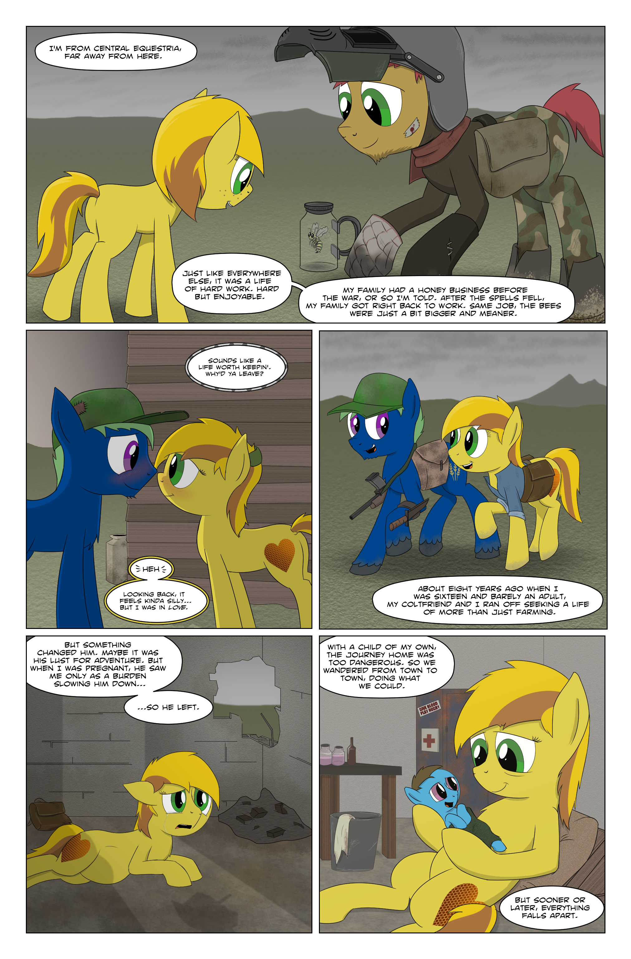 Fallout Equestria: Grounded page 66 by BoyAmongClouds