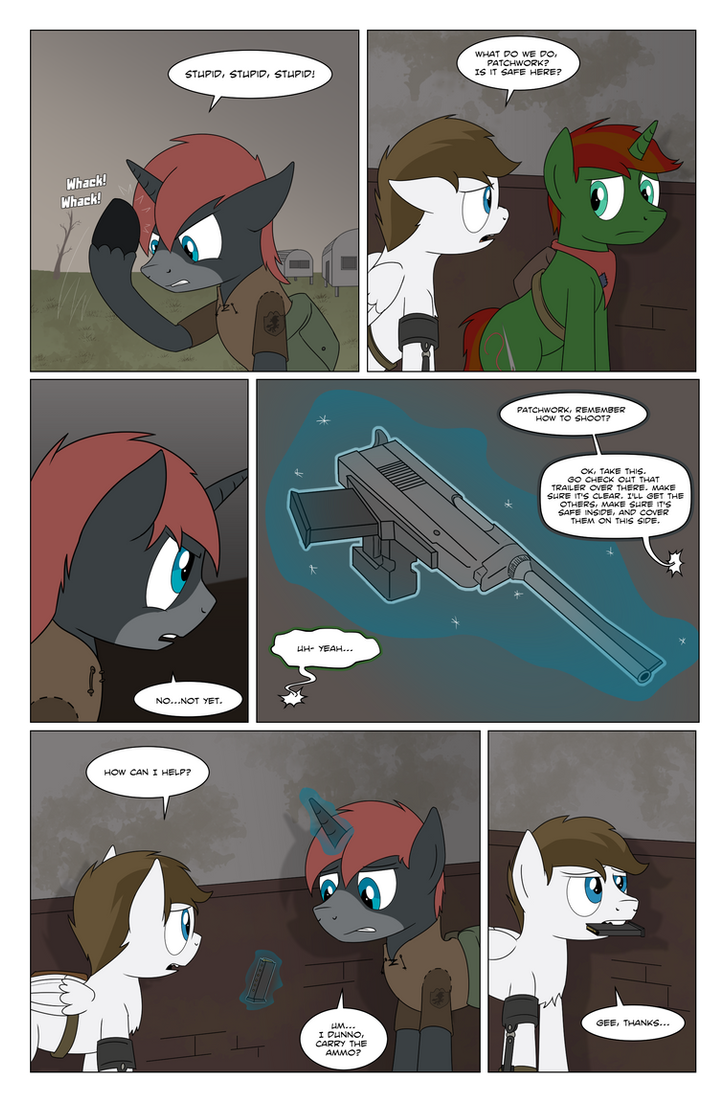 Fallout Equestria: Grounded page 95 by BoyAmongClouds