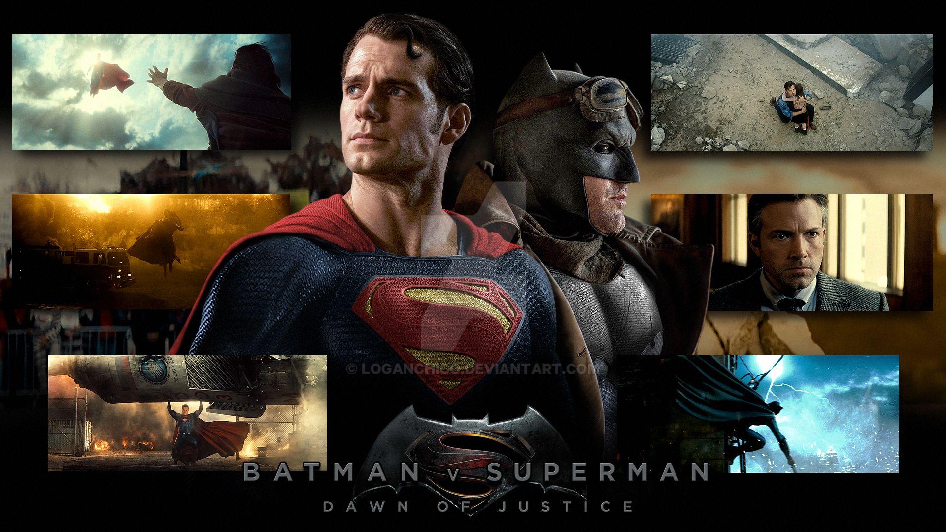 Batman Vs Superman Wallpaper By LoganChico