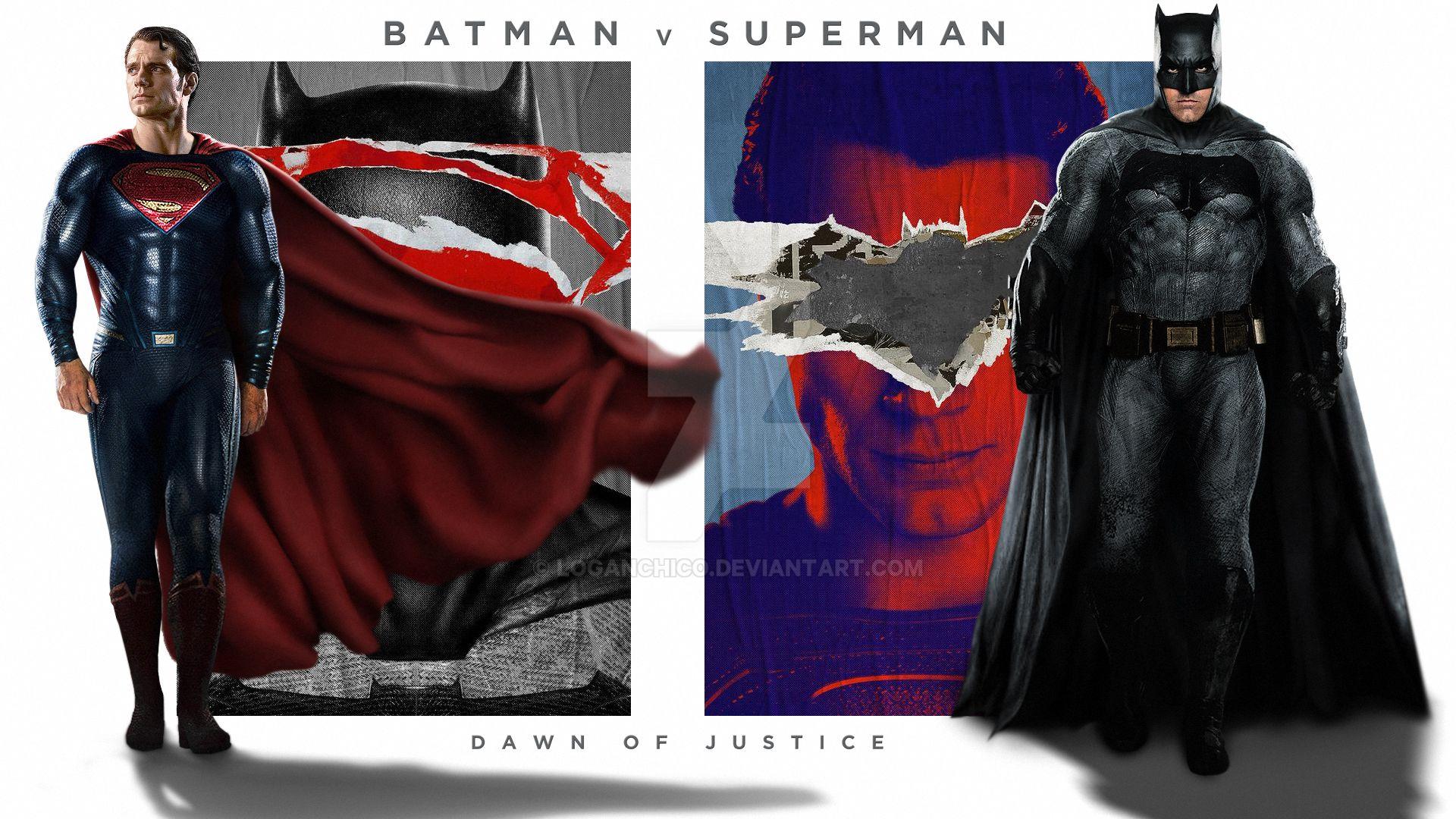 Batman V Superman Wallpaper 02 By LoganChico