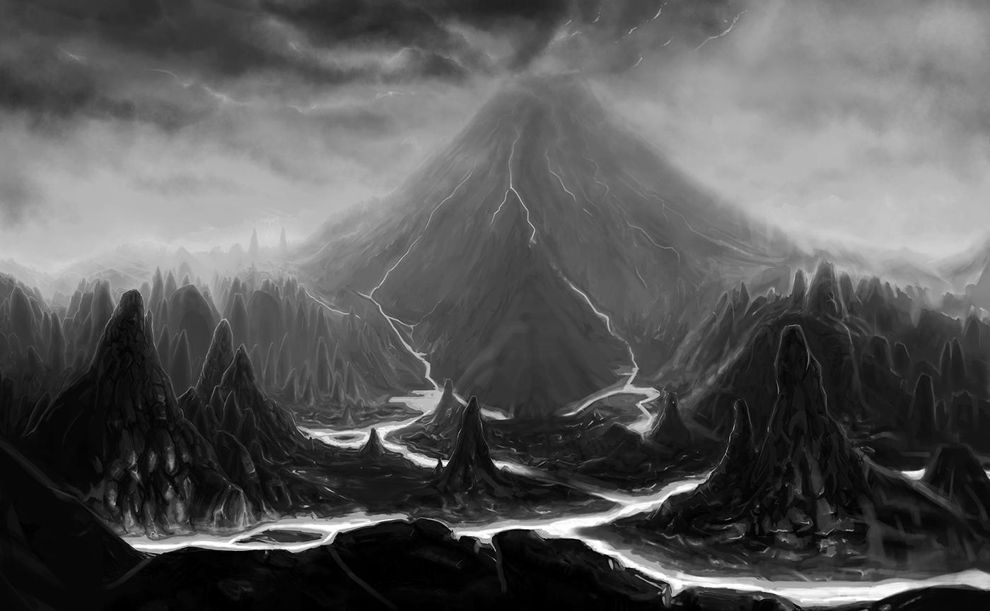 Risultati immagini per mountain of darkness deviantart