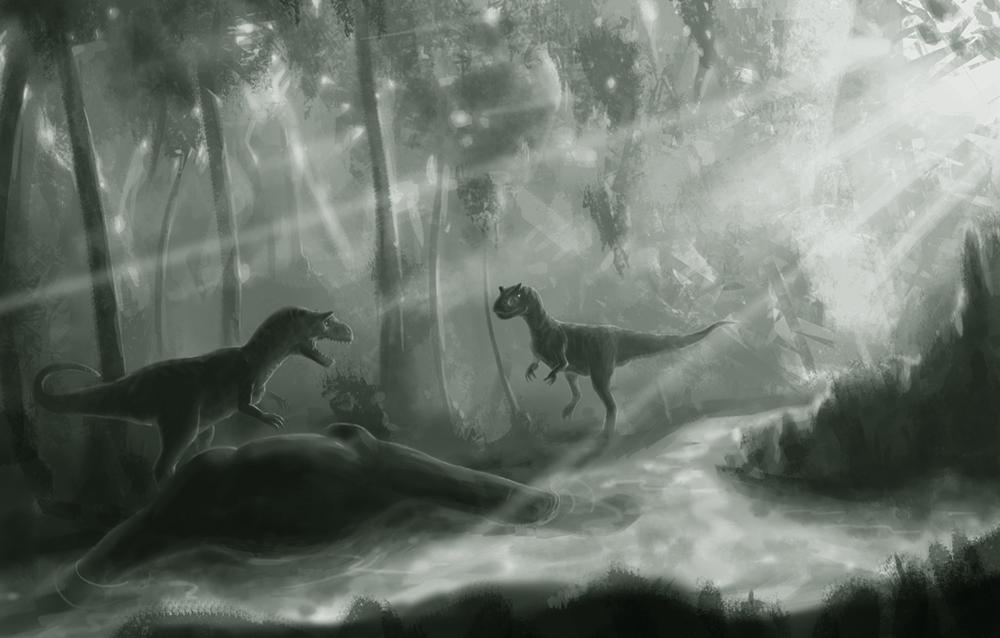 Allosaurus (sketch)