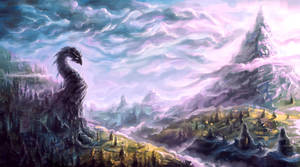Dragon's Cliff (speed art)