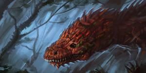 Raptor (speed painting)