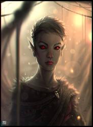 Urshilaku Dunmer by ThornSpine