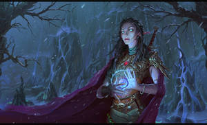 Elf of Lost Lands by ThornSpine