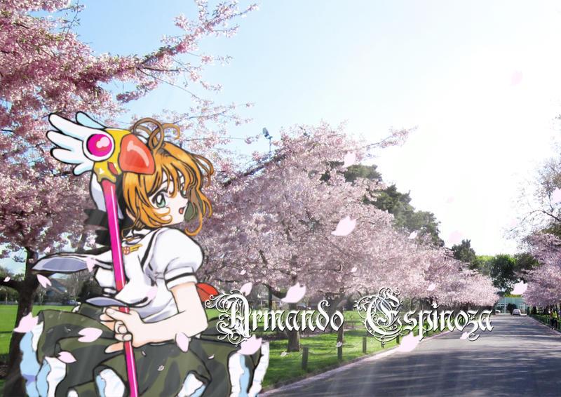 Sakura in the park by MuDDiTToX
