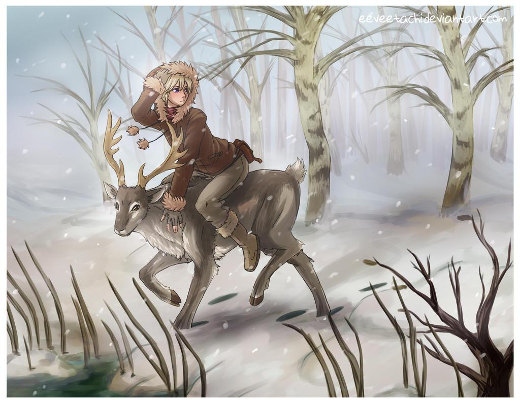 Reindeer Companion by Eeveetachi