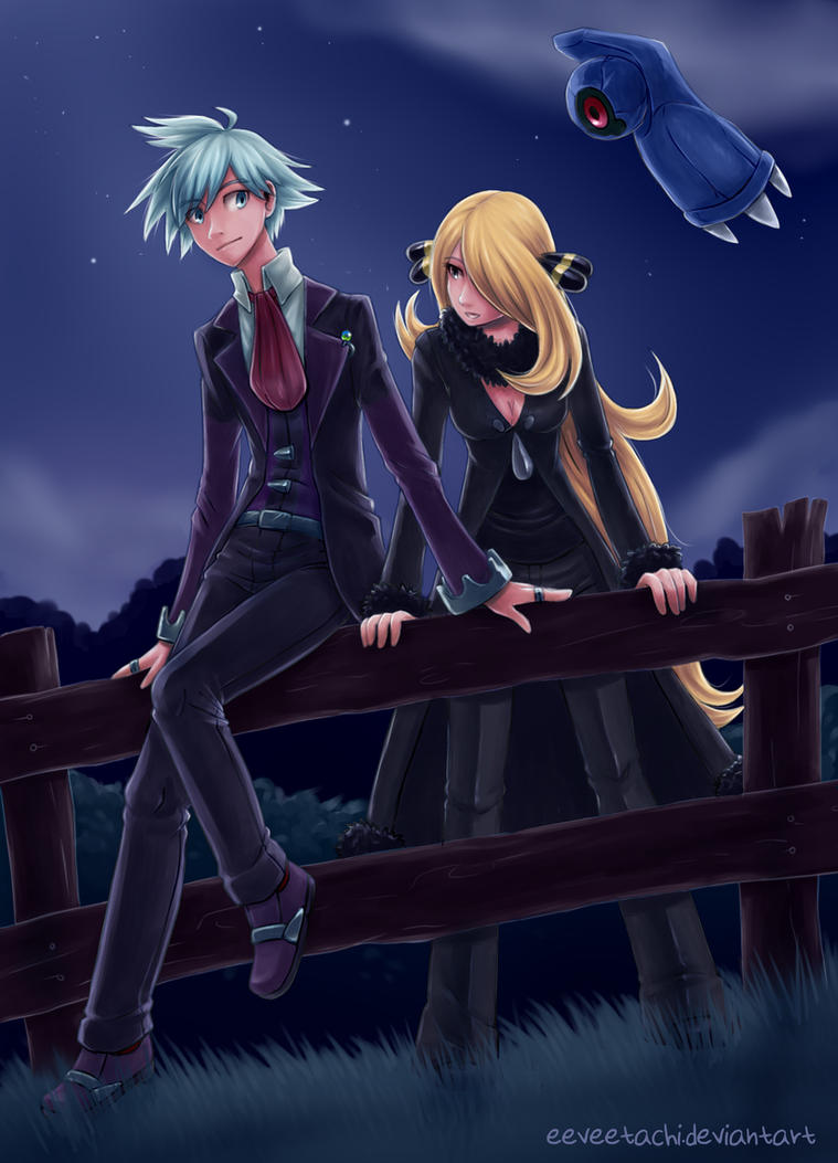 the fence featuring steven and cynthia by eeveetachi on