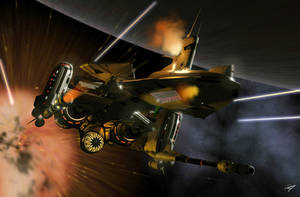 Battle Cruiser by EastCoastCanuck