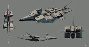 Support ship by EastCoastCanuck