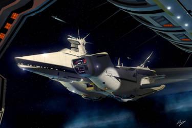 Fleet Support Ship by EastCoastCanuck