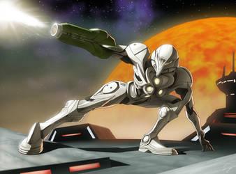 Metroid:Lightsuit by EastCoastCanuck
