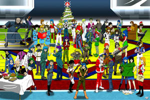 Robotech Christmas by EastCoastCanuck