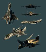 Bernal starfighter by EastCoastCanuck