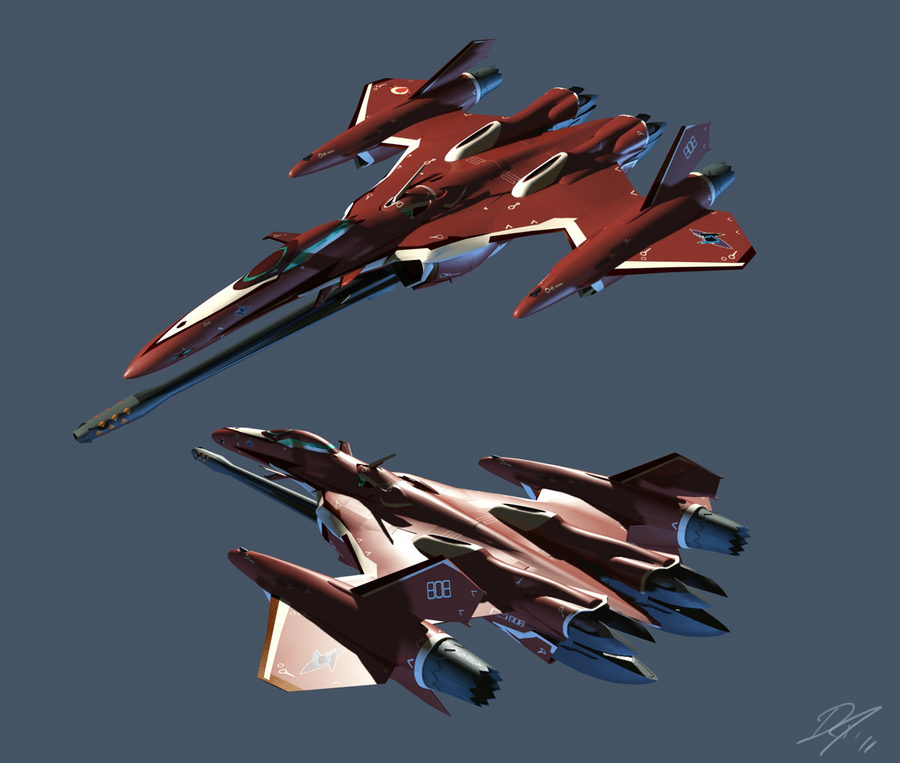 VF 27 Fighter mode by EastCoastCanuck