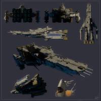 SDF1 cruiser by EastCoastCanuck