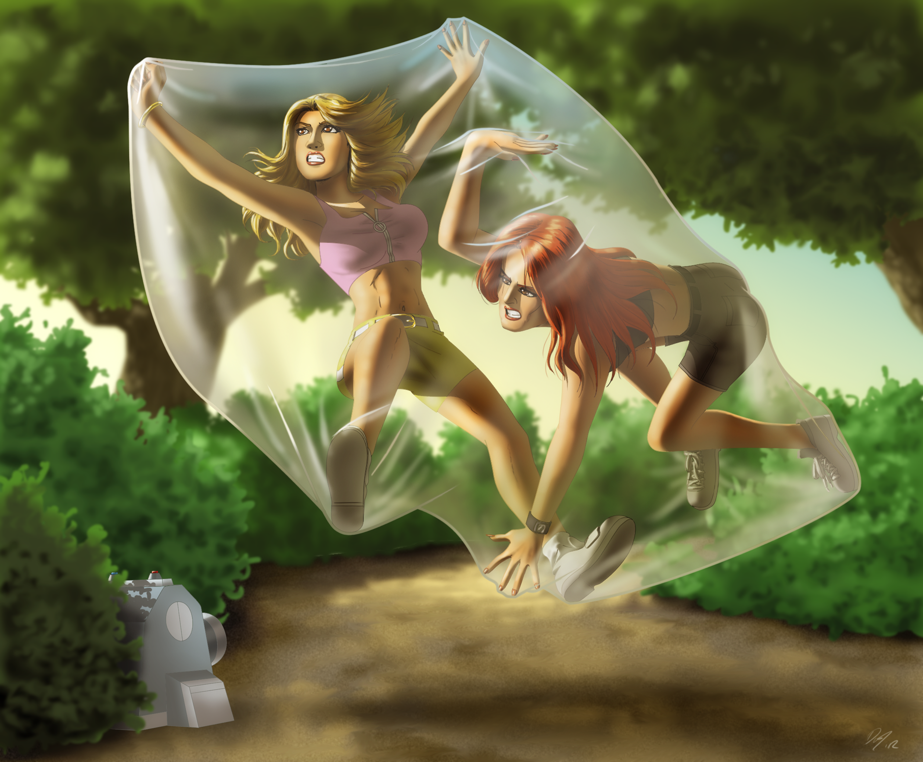 A Jog Into Bubble Trouble 2 By EastCoastCanuck On DeviantArt