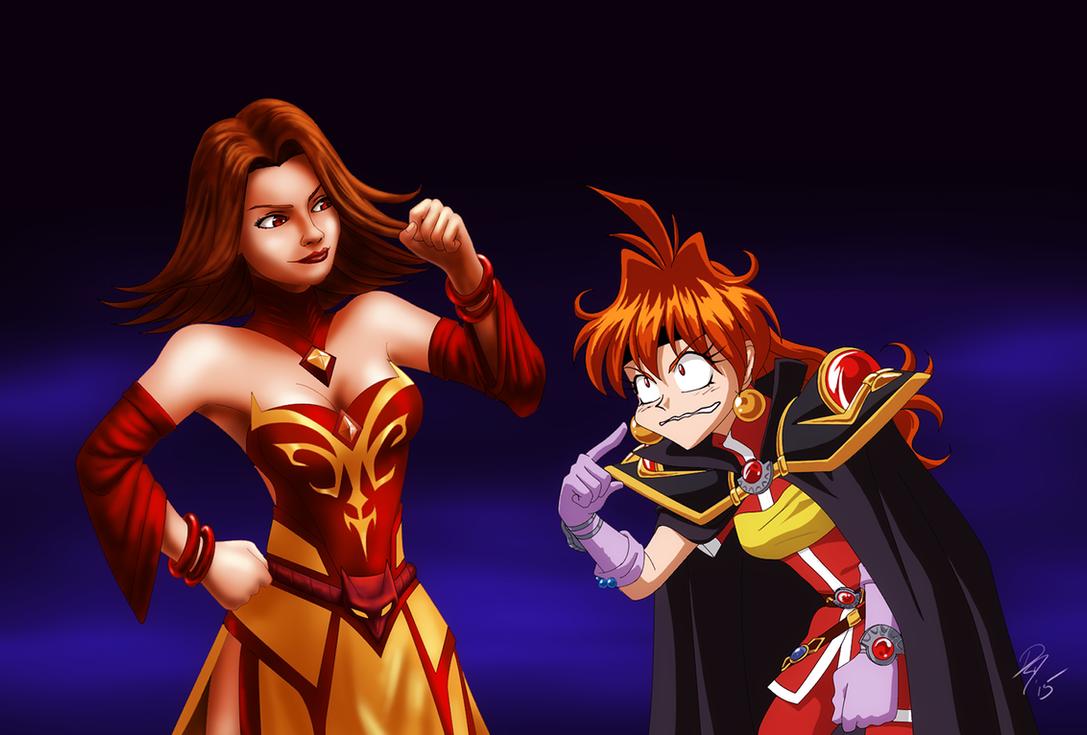 Lina and Lina by EastCoastCanuck