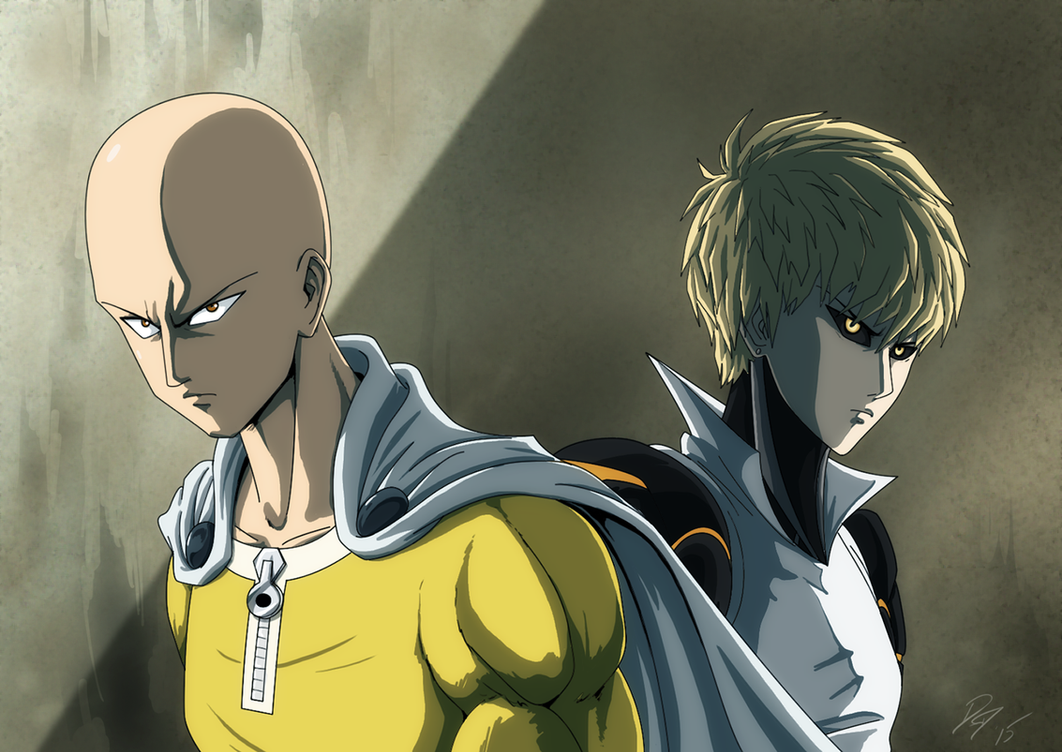 One Punch Heros by EastCoastCanuck