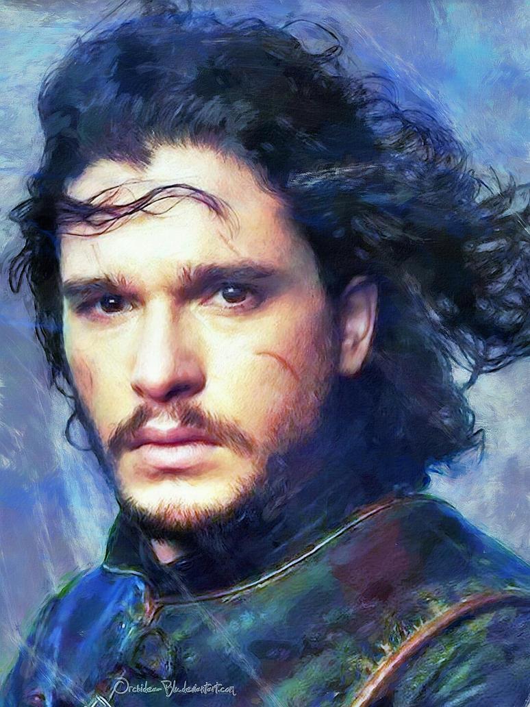 Jon Snow by Orchidea-Blu