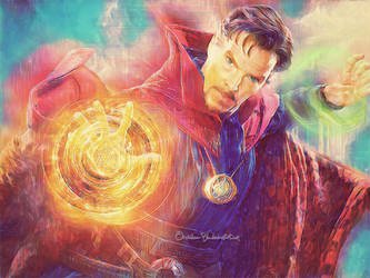 -Doctor Strange- by Orchidea-Blu