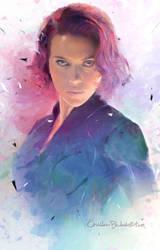 -Black Widow #2- by Orchidea-Blu