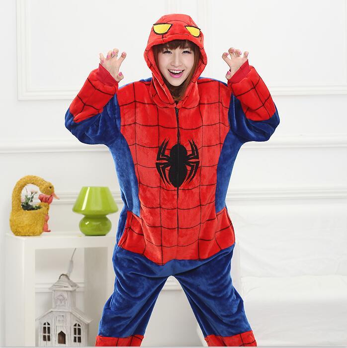 Spiderman Superhero Kigurumi