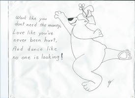 Dancing Bear: by theartguy (my dad)