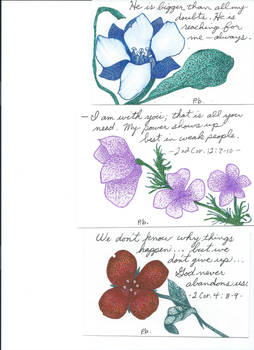 Samples of my dad's cards