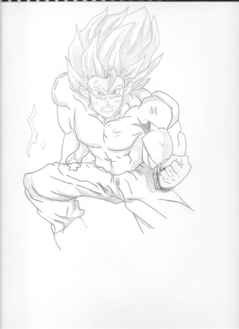 Goku Final 1  by thebingbang