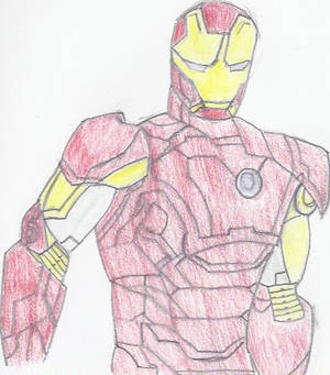 Iron Man First Layer Color