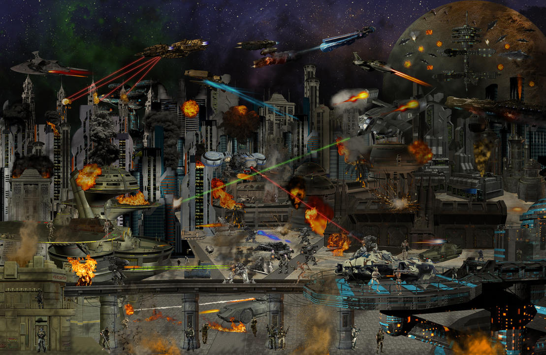 war of the universe by goazilla