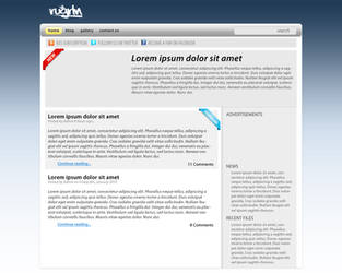 RUGRLN Web Site Mock Up by RUGRLN