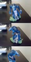 Worgen Sculpture by MortalFate