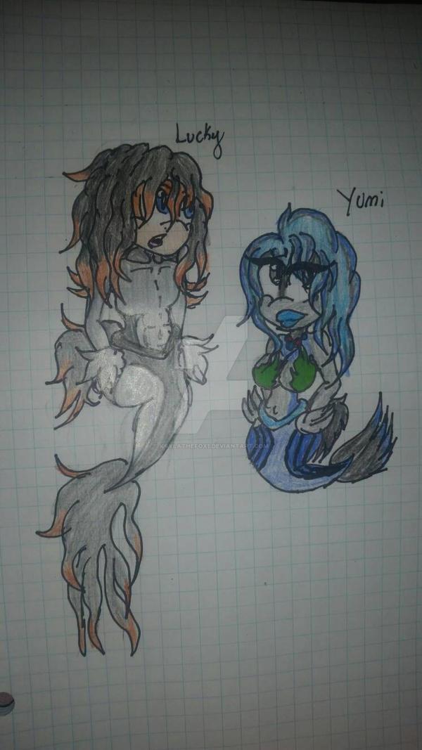 Lucky an Yumi Betta's by kaylathefox1