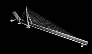 Erasmus Bridge Model