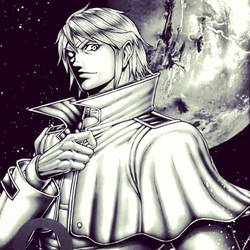 Joseph Gustav Newton, space prince of humanity! by Makoto-nii-chan