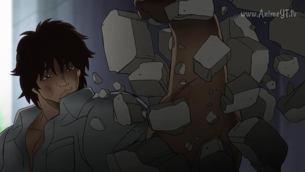 Super strong grappler boy Baki-kun breaks his cast by Makoto