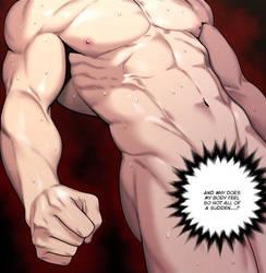 Hottest traine Ho Jin-kun's amazing musculature! by Makoto-nii-chan