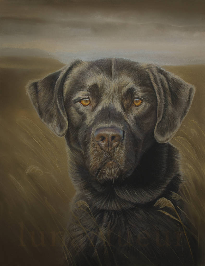 Waiting for the Call - Pastel Painting