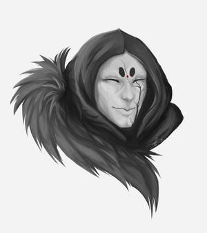 Masked Portrait