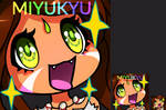 Another Nidalee Emote by Miyukyu
